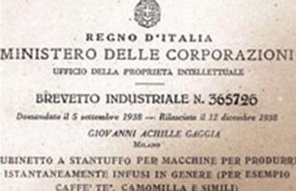 Gaggia Patent