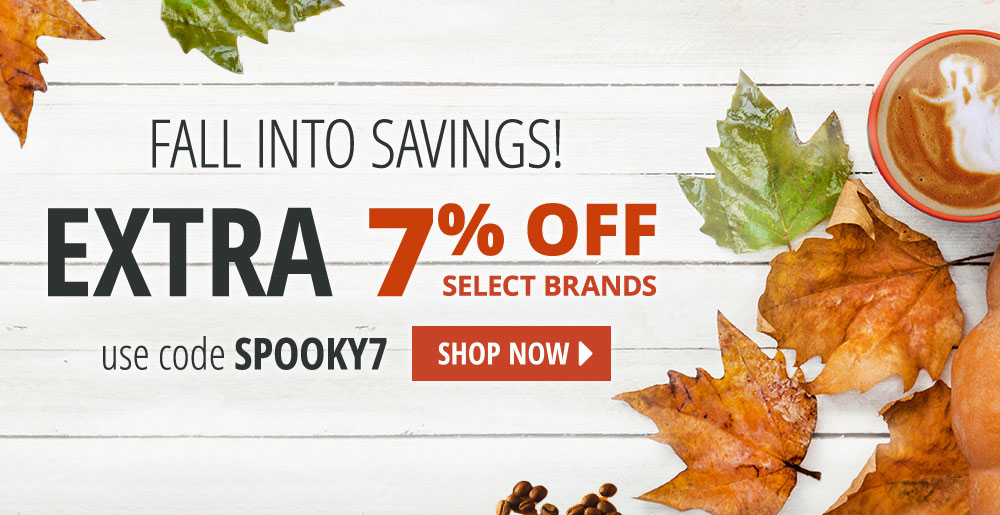 Take 7% off site-wide with code SPOOKY7