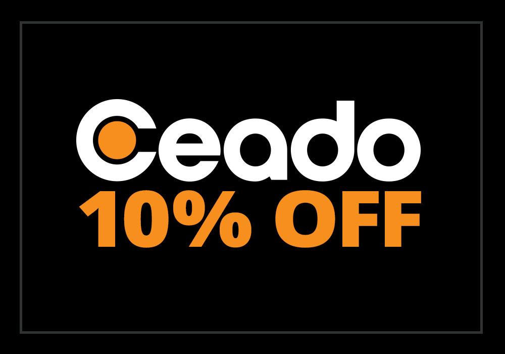 10% off Ceado Grinders