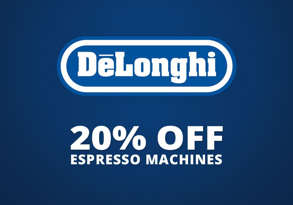 20% off Select Delonghi
