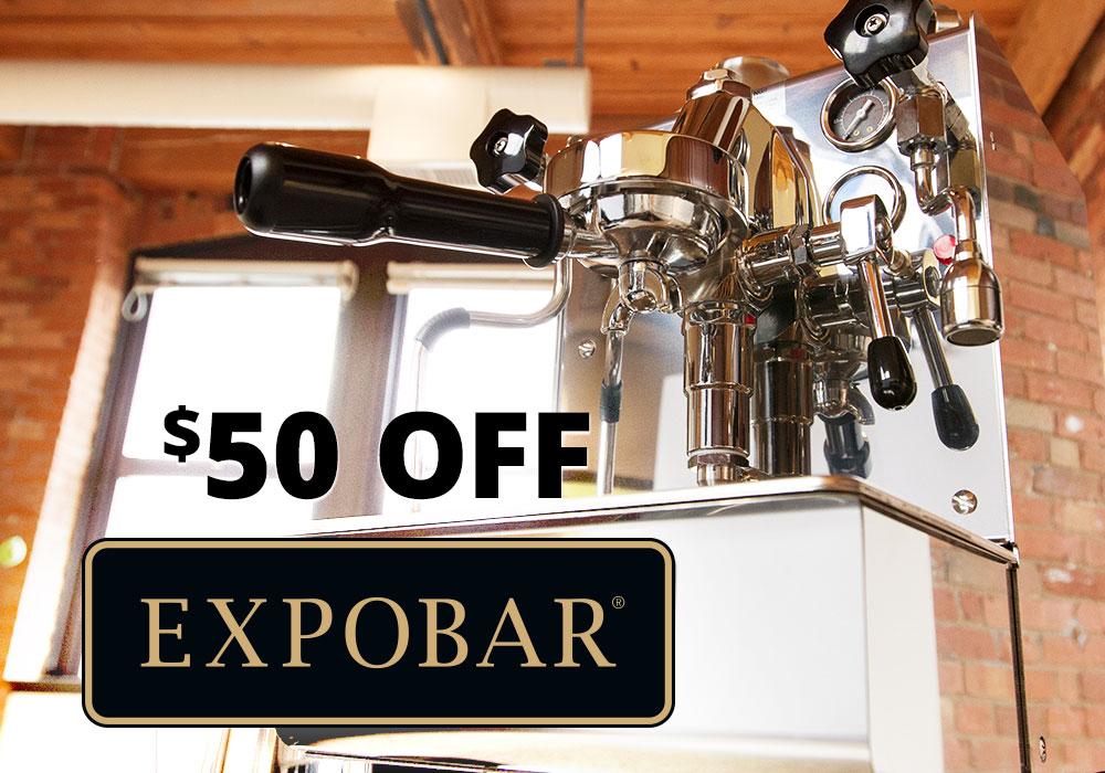 $50 OFF Expobar