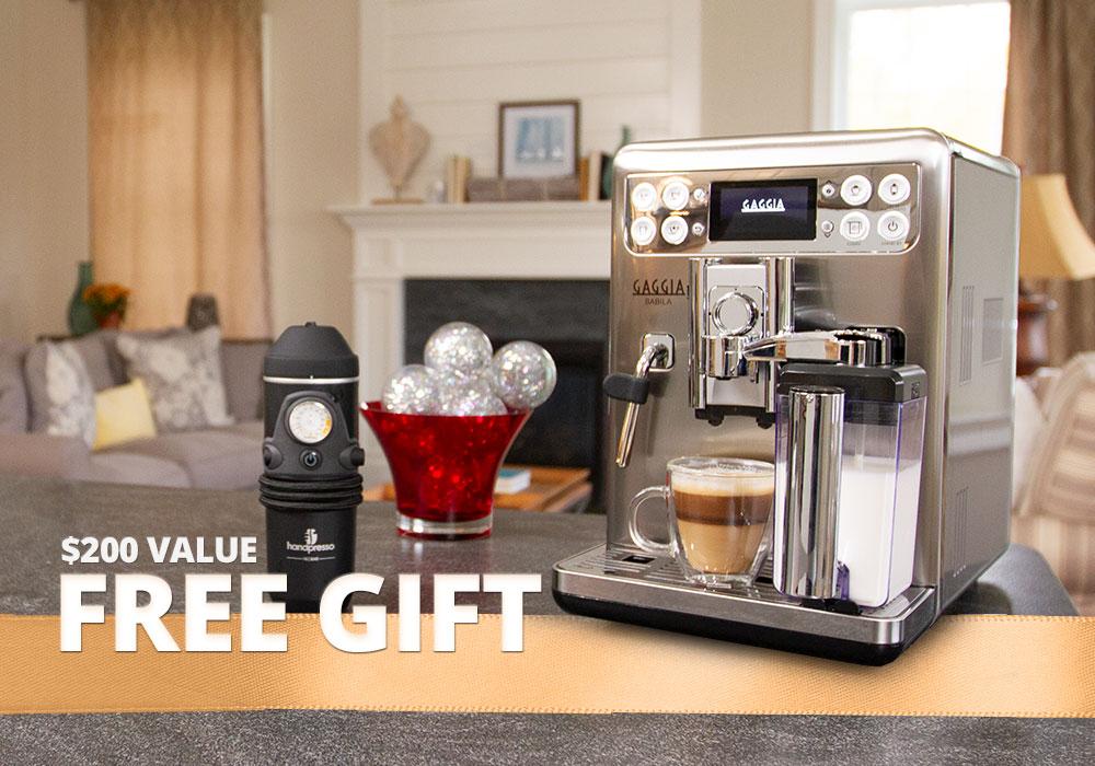 Gaggia Handpresso Free Gift