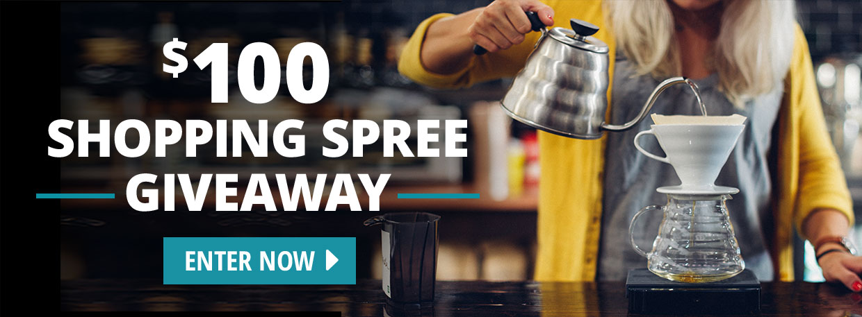 $100 Shopping Spree Giveaway