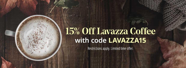 Lavazza Coffee Sale
