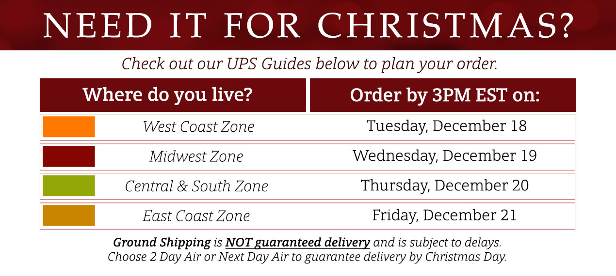 Holiday Shipping Guide - Whole Latte Love