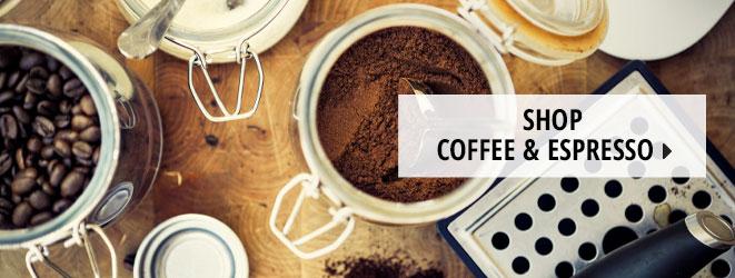 Shop Coffee & Espresso